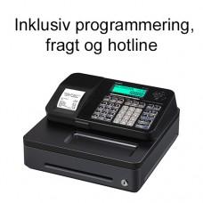 Casio SE-S100S-BK kasseapparat inkl. programmering, fragt og hotline