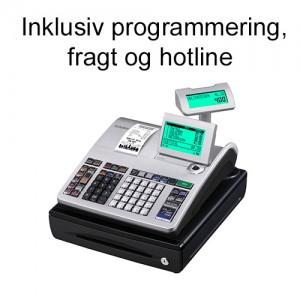 Casio SE-S400SB kasseapparat inkl. programmering, fragt og hotline