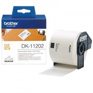Brother DK11202 fragtlabel