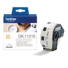 Brother DK11218 rund label