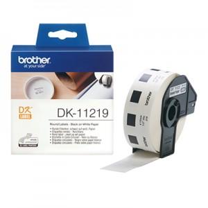 Brother DK11219 rund label