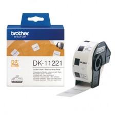 Brother DK11221 kvadratisk label