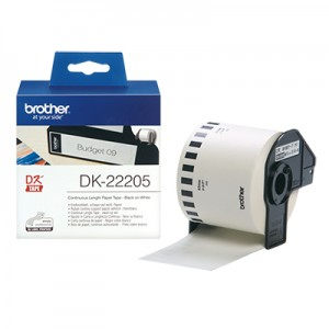 Brother DK22205 DK-labels i endeløs bane