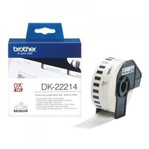 Brother DK22214 papirtape, endeløs bane