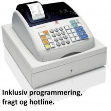 Olivetti ECR 7700 programmeret - brugt