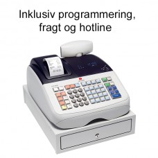 Olivetti ECR 6800 Kasseapparat Programmeret