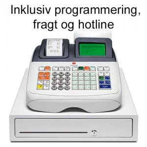 Olivetti ECR 8200S Kasseapparat Programmeret