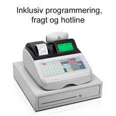 Olivetti ECR 8220S Kasseapparat Programmeret