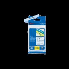 Brother TZeMQ531 tape – sort print på pastelblå tape - 12 mm x 4 meter - Original TZe-MQ531 tape