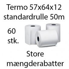 Termorulle 57X64x12 (50 meter 60 stk.) BPA-fri