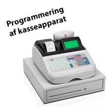 Programmering af Olivetti kasseapparat