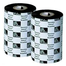 Zebra farvebånd, voks, 60mm x 450m, 2300 serien, 12 ruller